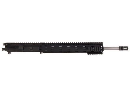 "Syrac Ordnance AR-15 A3 Flat-Top Upper Assembly 223 Wylde 1 in 8"" Twist 16"" Barrel Stainless Steel Mid Gas with Daniel Defense MFR 12.0 Free Float Handguard, Solid Gas Block, Flash Hider"