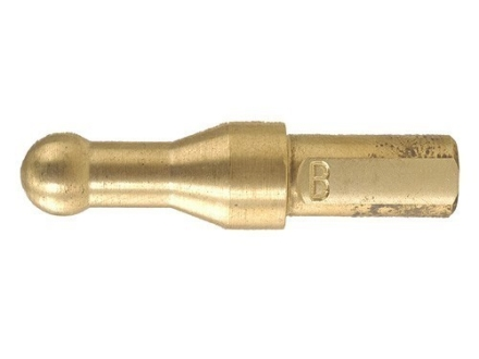 R W Hart Barrel Muzzle Crown Lapping Tool Insert #B 25 to 7mm Caliber Brass