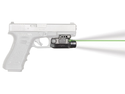 Viridian X5L Gen 2 Series 5mW Gen 2 Green Laser Sight 154 Lumen Tactical Flashlight with Universal Rail Mount Matte