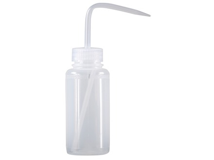 Baker Bore Cleaning Solvent and Gun Oil Squeeze Bottle with Clear Cap 8 oz