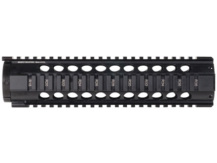 Midwest Industries T-Series Free Float Tube Handguard Quad Rail AR-15 Aluminum