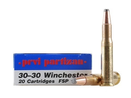 Prvi Partizan Ammunition 30-30 Winchester 170 Grain Soft Point Box of 20