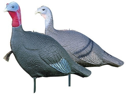 Feather Flex Purrfect Pair Turkey Decoy Set Foam