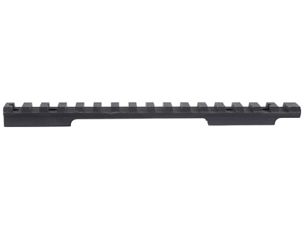 EGW 1-Piece Heavy Duty Picatinny-Style 20 MOA Elevated Base Savage 10 Through 16 Short Action Round Rear