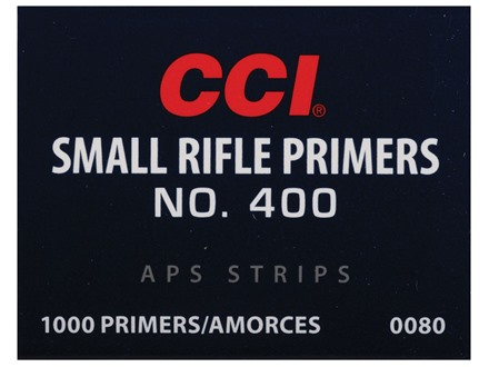 CCI Small Rifle APS Primers Strip #400