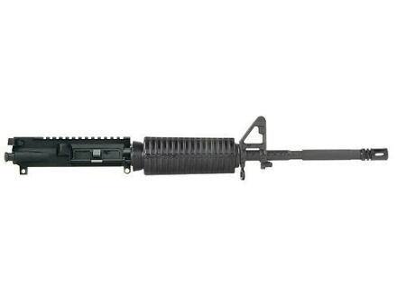"DPMS AR-15 AP4 A3 Flat-Top Upper Assembly 6.8mm Remington SPC II 1 in 11"" Twist 16"" M4 Contour Barrel Chrome Moly Matte with GlacierGuard Handguard, A2 Front Sight, Flash Hider"