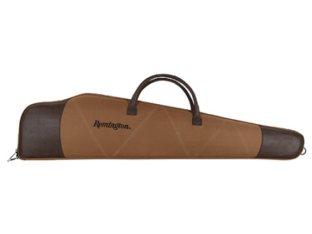 "Remington Premier Scoped Rifle Gun Case 46"" Nylon Brown"