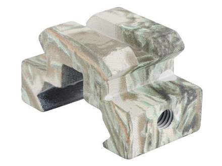 "Remington Picatinny-Style Mini Riser Mount 3/4"" Length Aluminum Realtree Max-1 Camo Package of 2"