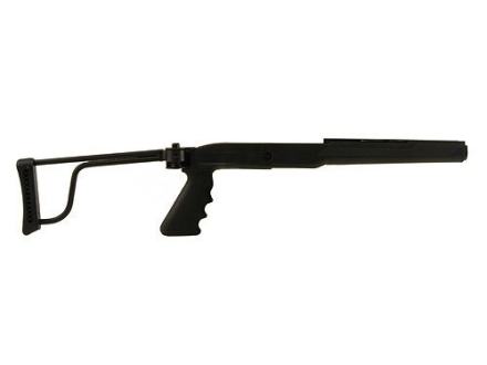 Butler Creek Pistol Grip Folding Rifle Stock Ruger Mini-14, Mini-30 Synthetic Black Blue