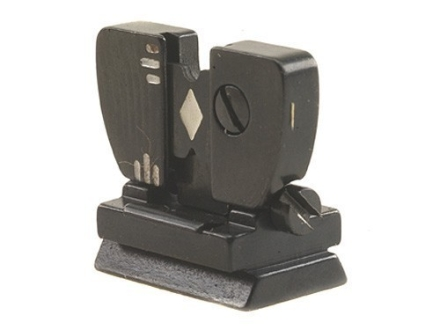 Marble&#39;s #69WEH Windage Adjustable Folding Leaf Sight .520&quot; Height Steel Blue