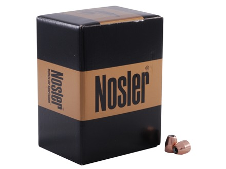 Nosler Custom Competition Bullets 45 Caliber (451 Diameter) 185 Grain Jacketed Hollow Point