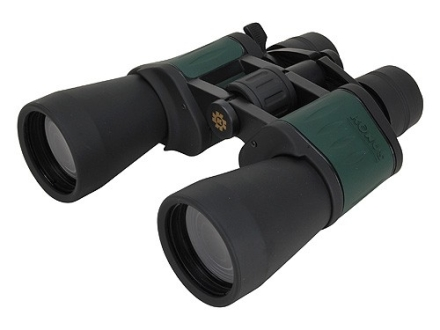 Konus Zoom Binocular 8-24x 50mm Porro Prism Rubber Armored Black