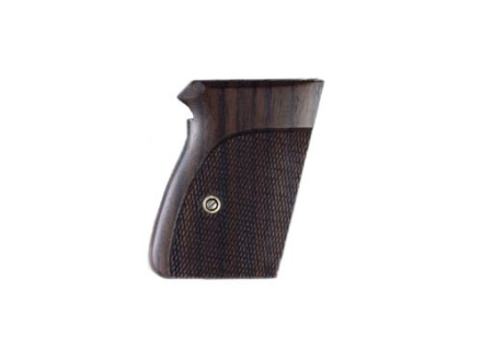 Hogue Fancy Hardwood Grips Walther PPK Checkered Rosewood
