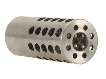 Vais Muzzle Brake Micro 284 Caliber, 7mm 1/2&quot;-32 Thread .750&quot; Outside Diameter x 1.750&quot; Length Stainless Steel