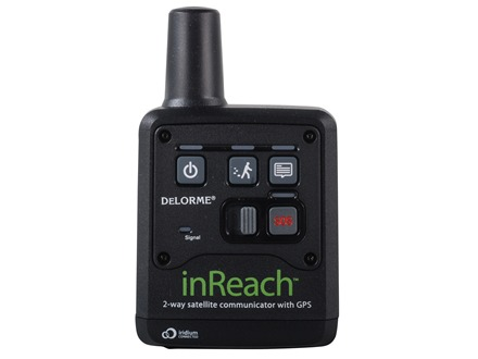 DeLorme inReach Global Communication Device and GPS Viewer for Smartphones