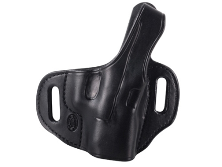 El Paso Saddlery Strongside Select Thumb Break Outside the Waistband Holster Right Hand Glock 26, 27, 33 Leather Black