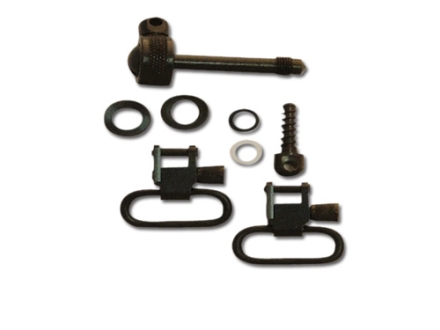 "GrovTec Sling Swivel Studs with 1"" Locking Swivels Set Remington 7400 Steel Black"