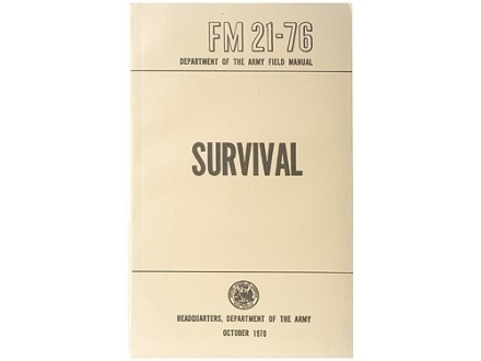 """Survival"" Military Manual by Department of the Army"