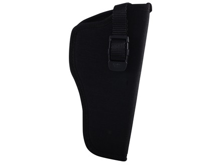GrovTec GT Belt Holster Right Hand with Thumb Break Size 5 for 4.5-5&quot; Barrel Large Frame Semi-Automatics Nylon Black