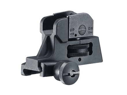 Colt Tactical Rear Sight AR-15 22 Tactical Rimfire Steel Matte
