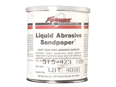 Formax Liquid Abrasive Sandpaper 120 Grit 1 Quart