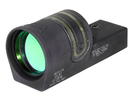 Trijicon Advanced-Combat Reflex RX30 Sight 6.5 MOA Dual Illumination Amber Dot 42mm Objective without Mount Matte