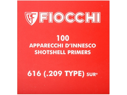 Fiocchi Primers #209 Shotshell Case of 5000 (5 Boxes of 1000)