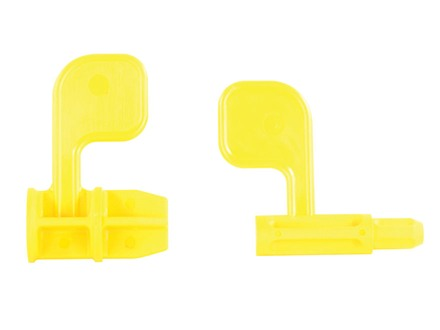 Arredondo AR-15 / Shotgun 3-Gun Chamber Safety Flag Set Polymer Yellow