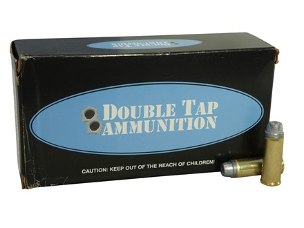 Doubletap Ammunition 45 Colt (Long Colt) +P 255 Grain Keith-Type Semi-Wadcutter