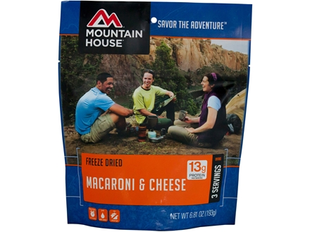 Mountain House Macaroni and Cheese Freeze Dried Meal 6.8 oz