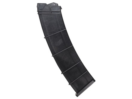SGM Tactical Magazine Saiga 12 Gauge 12-Round Polymer Black