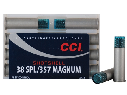 CCI Shotshell Ammunition 38 Special 100 Grains #9 Shot Box of 10