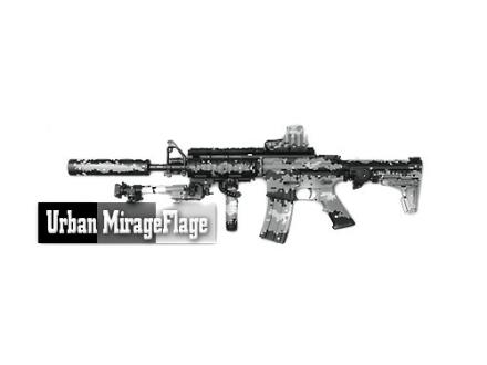 Lauer CamoCoat Firearm Finish Urban MirageFlage CamoPak