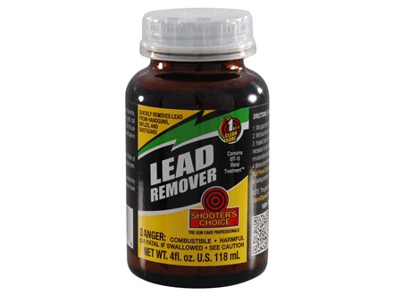 Shooter's Choice Lead Remover Bore Cleaning Solvent 4 oz Liquid