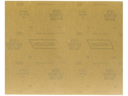 "Norton Adalox No-Fil Sandpaper 400 Grit 9"" x 11"" Package of 25"
