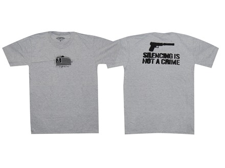 "Advanced Armament Co (AAC) ""Silencing Is Not A Crime"" T-Shirt Short Sleeve"