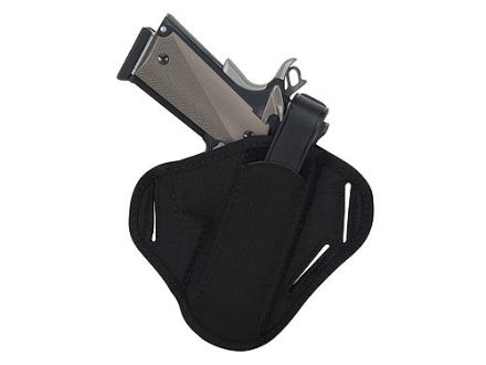 "BlackHawk Pancake Holster Ambidextrous Medium, Large Frame Semi-Automatic 3-1/4"" to 3-3/4"" Barrel Nylon Black"