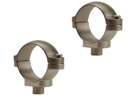 "Leupold 1"" Quick-Release Rings Silver Low"