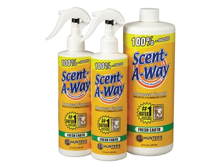 Hunter&#39;s Specialties Scent-A-Way Scent Eliminator Fresh Earth Bonus Pack