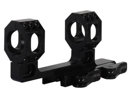 "American Defense Recon-H Quick-Release Scope Mount Picatinny-Style with 1"" Rings AR-15 Flat-Top Matte"