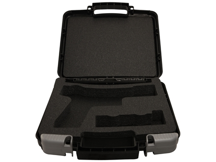 Sig Sauer Pistol Gun Case 13-1/2&quot; x 10-1/2&quot; Polymer Black