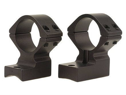 Talley Lightweight 2-Piece Scope Mounts with Integral 1&quot; Rings Weatherby Magnum Matte High