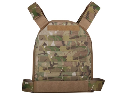 US Palm MOLLE Defender Series Soft Body Armor Level IIIA Large Front and Back Panels 500d Cordura Nylon