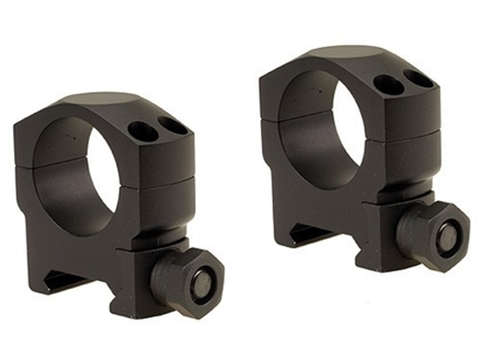 "Leupold 1"" Mark 4 Picatinny-Style Rings Matte Medium Aluminum"