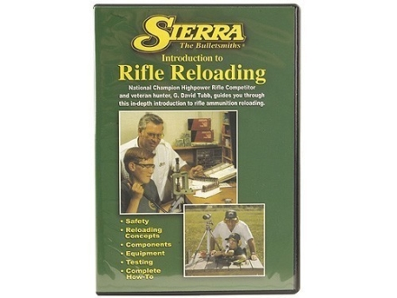 "Sierra Video ""Introduction to Rifle Reloading"" DVD"