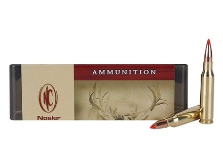 Nosler Custom Ammunition 7mm-08 Remington 120 Grain Ballistic Tip Hunting Spitzer Box of 20