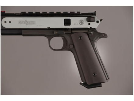 Hogue Extreme Series Magrip Kit 1911 Government, Commander Smooth with Flat Mainspring Housing Aluminum Black