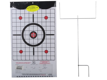 EZ Target Sight-In Master Pack Target 11&quot; x 17&quot; Paper Package of 15 with Stand and Backer
