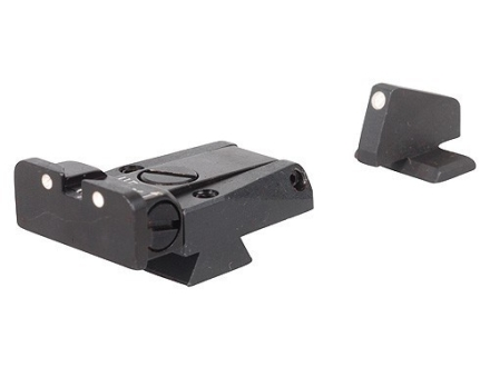 LPA SPR Sight Set Browning Hi-Power Mark III Steel 3-Dot