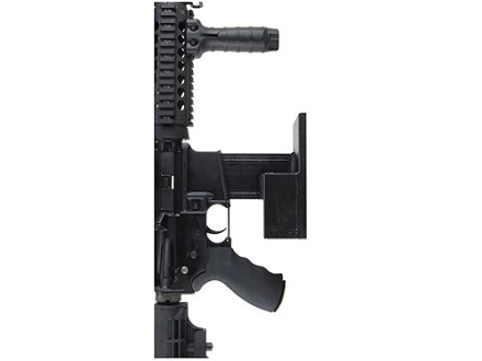 Plastix Plus AR-15 Vertical Wall Mount with Magazine Storage